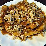 recette Bananes caramélisées aux épices