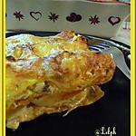 recette Lasagnes poulet - champignons