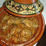recette Tajine de lapin au miel et sésame