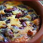 recette Clafoutis de cerises à l'amande:petite douceur dans un monde de brut !