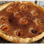 recette Tarte amandine d'abricots caramélisés au sirop d'érable
