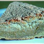 recette Gâteau au caramel de lavande en croûte d'amande et noix de coco.