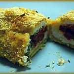 recette Croqu'poulet persillé aux tomates séchées et moutarde