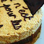 recette Gâteau des mamans au caramel beurre salé et noisettes.