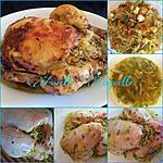recette Poulet farci aux vermicelles (dé-li-cieux !!!)