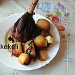 recette Souris d'agneau confite et ses pommes de terre