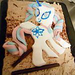 recette Decor pate a sucre My Little Pony Princesse Celestia