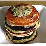recette Mille feuilles de blinis d'épeautre, aubergine et crème d'asperge