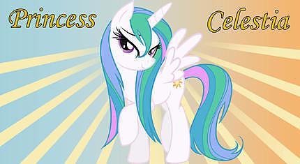 Recette de decor pate a sucre my little pony princesse - My little pony en dessin anime ...