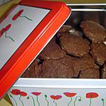 recette Sablés chocolat/noisette