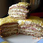 recette Gâteau aux crêpes jambon béchamel