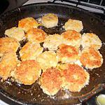 recette Croquette de pomme de terre au poulet et fromage