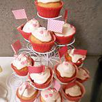 recette Cupcake glaçage mascarpone rose princesse