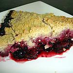 dessert fruits : recette Crumble aux fruits rouges