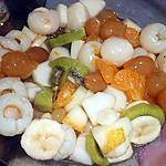 recette SALADE DE FRUITS AUX LYCHEES