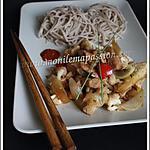 recette Sauté de chou fleur au poulet