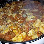 recette Gnocchis à la sauce bolognaise au basilic et parmesan