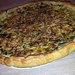 recette Tarte poireaux lardons et mascarpone
