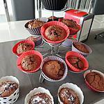 recette Muffins chocolat aux éclats de cacao