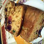 recette cakes au fruits confits et cerise confite