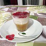 recette Verrine tricolore compote fromage blanc