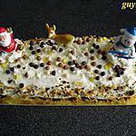 recette bûche pâtissière/poires