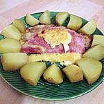 recette cote de porc roulé au reste de raclette