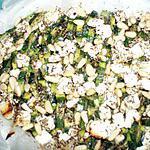 recette Tian de courgettes à la feta & pignons de pins