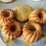 recette Gâteaux aux yaourts et compote de pommes