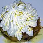 recette pommes caramélisées à la chantilly