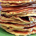 recette Pancakes nature sucrés
