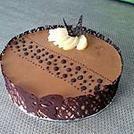 recette Bavarois poires chocolat