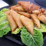 recette Samoussa au poulet
