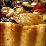 recette Tarte aux légumes aigre-doux sur pâte sablée au chèvre