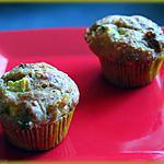 recette Petits moelleux de courgettes jaunes et tomates confites.