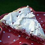 recette Tarte aux groseilles meringuées