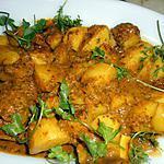 recette Pommes de terre a la chermoula