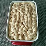 recette Mousseline au praliné