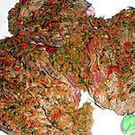 recette Bavette sauce chimichurri