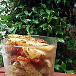 recette Salade de penne au pesto et tomates séchées