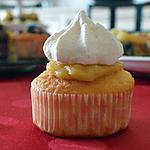 recette cupcake au citron et petite meringue