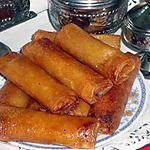 recette Rouleaux à la pâte d'amande