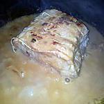 recette Rôti de porc aux girolles et à la créme