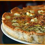 recette Tarte feuilletée courgettes jaunes, noisettes et sauge.