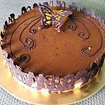 recette bavarois peches chocolat
