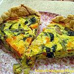 recette Tarte aux légumes d'automne