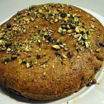 recette Gâteau semoule-miel-pistaches