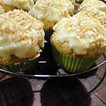 recette Cupcakes noix de coco-vanille