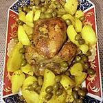 recette poulet aux olives pommes de terres