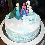 recette Gâteau Reine des Neiges facile